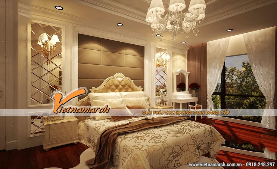 trần thạch cao cho phòng ngủ quyến rũ