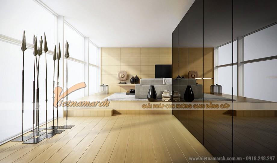 Chiêm ngưỡng mẫu trần thạch cao phòng khách phong cách hiện đại - 02