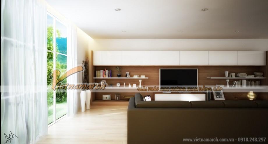 Chiêm ngưỡng mẫu trần thạch cao phòng khách phong cách hiện đại -03
