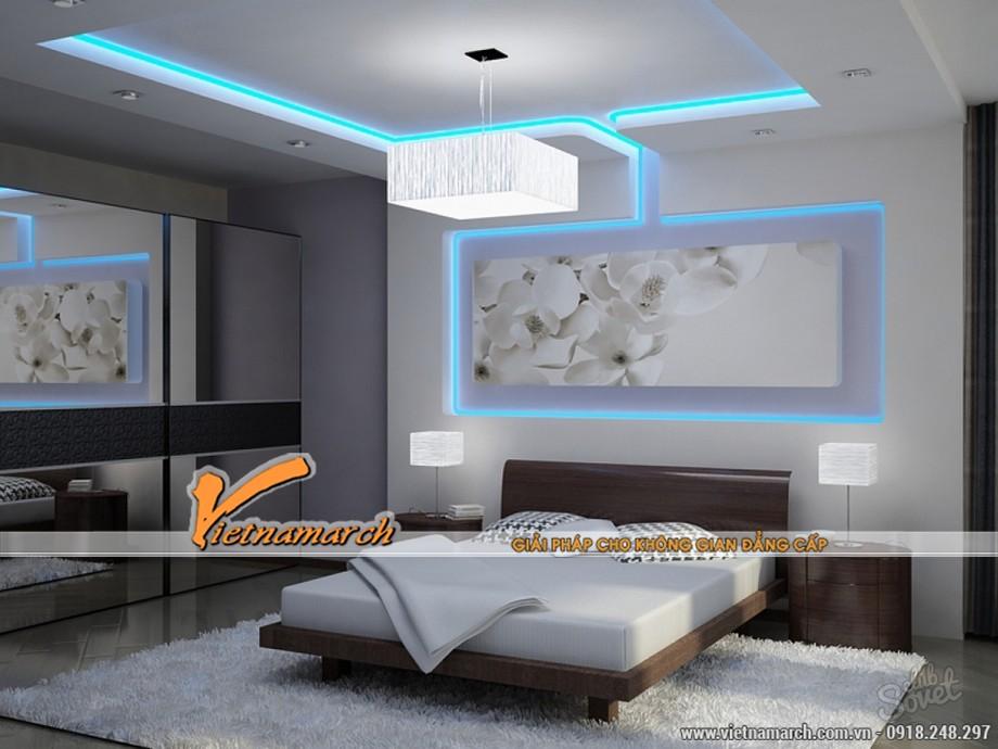 Những mẫu trần thạch cao hiện đại đẹp lung linh cho chung cư cao cấp 2016-04