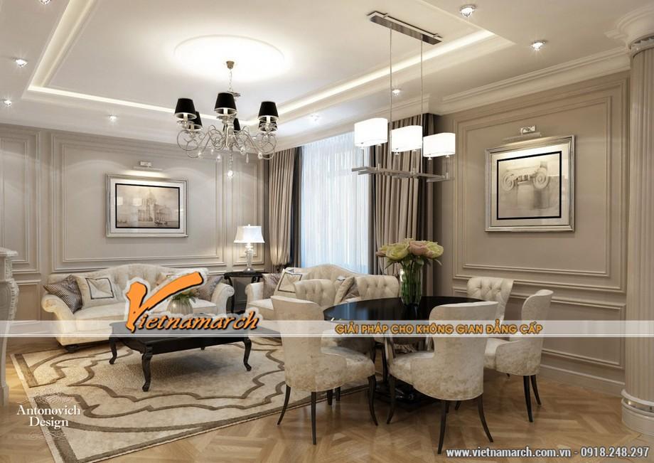 Những mẫu trần thạch cao hiện đại đẹp lung linh cho chung cư cao cấp 2016-02
