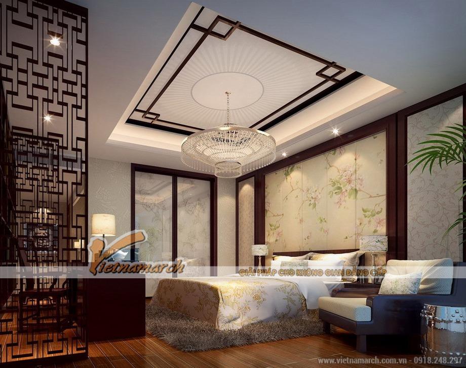 Thiết kế nội thất biệt thự phố mang đậm nét Á Đông tại Tuyên Quang