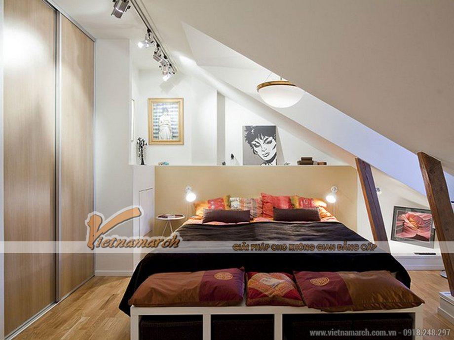 Thiết kế nội thất phòng ngủ nhà cấp 4 hiện đại 1 tầng tại Long Biên