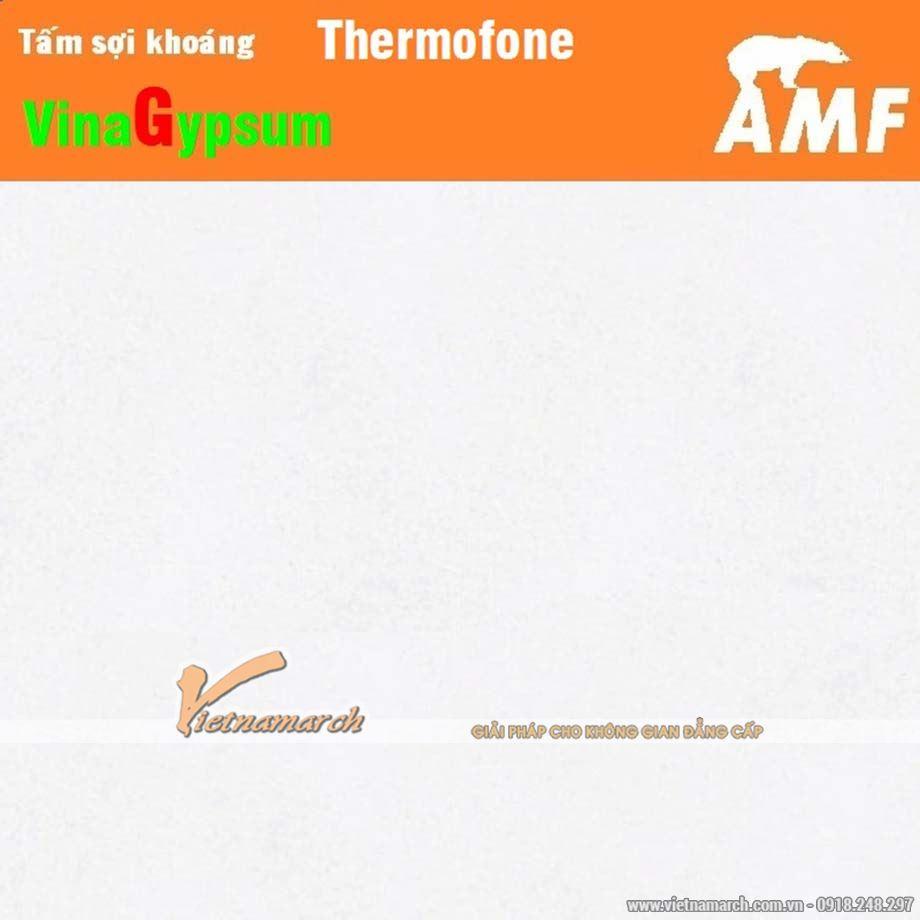 Sản phẩm tấm sợi khoáng AMF Thermofone ngoài đời thực