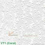 Tấm trần thạch cao phủ nhựa PVC Coral VT1