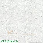 Tấm trần thạch cao phủ nhựa PVC Coral VT2