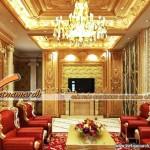 """""""Tan chảy"""" với trần thạch cao mang phong cách cổ điển-anh Hưng- Bắc Ninh"""