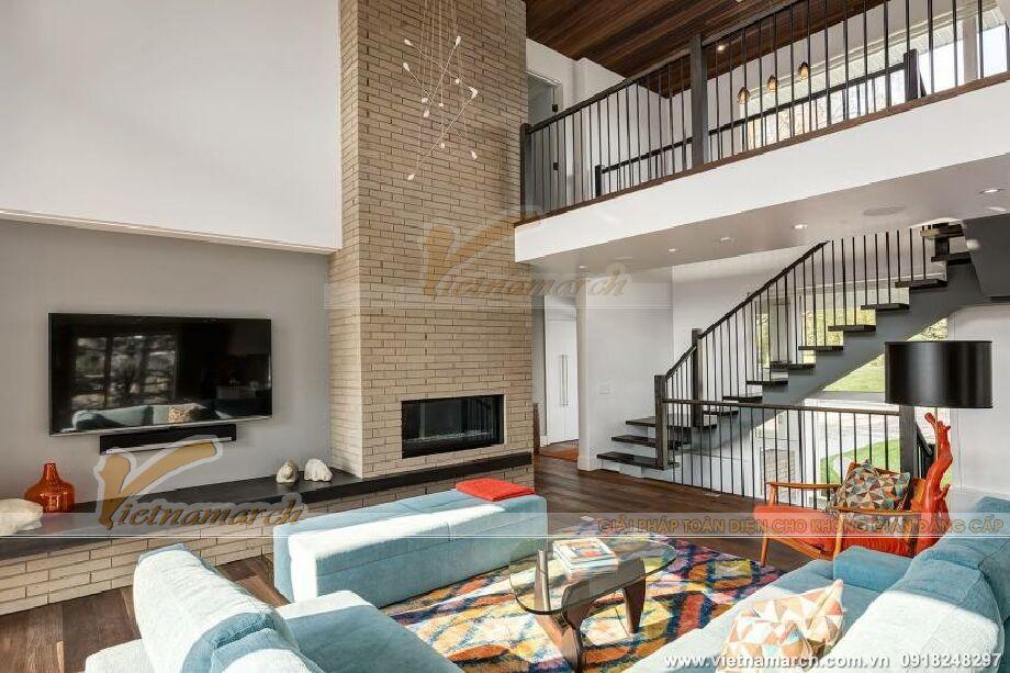 Thiết kế nội thât biệt thự nhà vườn 2 tầng hiện đại tại Trà Vinh