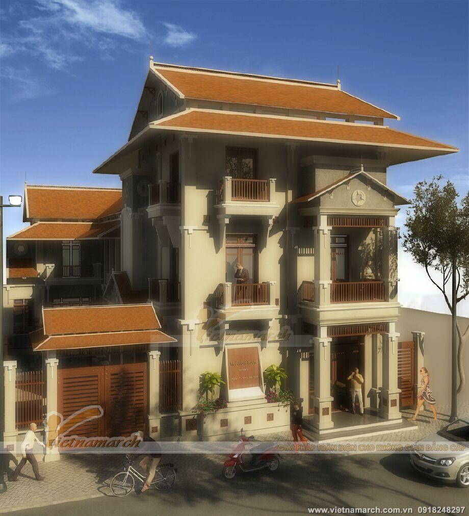 Thiết kế biệt thự phố mang đậm nét truyền thống Á Đông tại Tuyên Quang