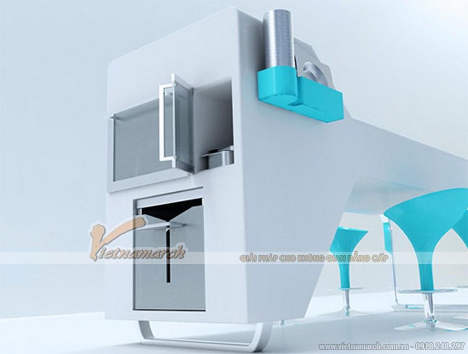 Tủ bếp cao cấp thông minh
