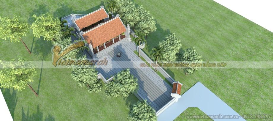 Tổng quan thiết kế nhà thờ họ Diêm Điền ở Thái Bình của anh Kim