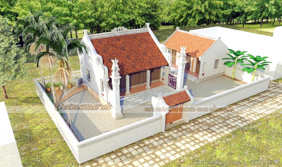 Thiết kế nhà thờ họ ở Ninh Giang - Hải Dương