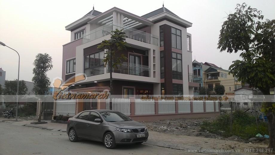 Tổng quan căn biệt thự của anh Hùng ở Bắc Ninh