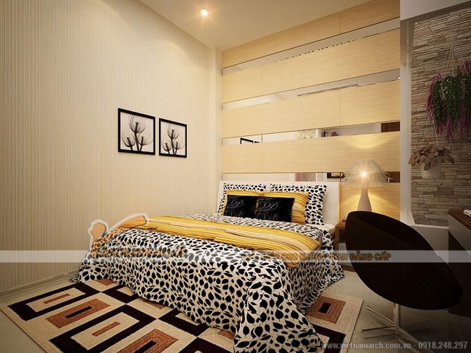 Phòng ngủ Master của nhà anh Phong mang đậm phong cách châu Âu