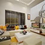 Thiết kế nội thất biệt thự Hoa Phượng Vinhomes Riverside nhà anh Phong