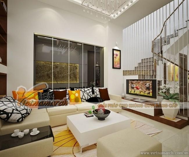 Thiết kế nội thất hiện đại biệt thự Hoa Phượng Vinhomes Riverside nhà anh Phong