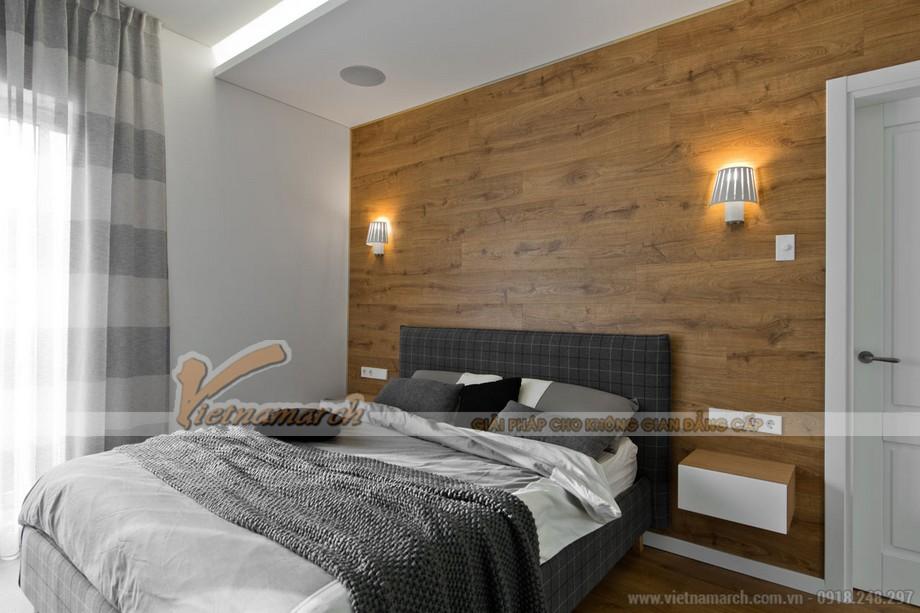 Lãng mạn với nhiều cung bậc cảm xúc nhưng không kém phần lịch lãm tinh tế trong nội thất phòng ngủ