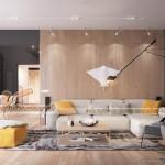 Thiết kế nội thất Waterfront City sang trọng, đẳng cấp trong căn hộ 98m2
