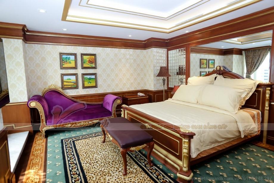 Thiết kế trần thạch cao phong cách hoàng gia cho căn hộ chung cư Times City - 05