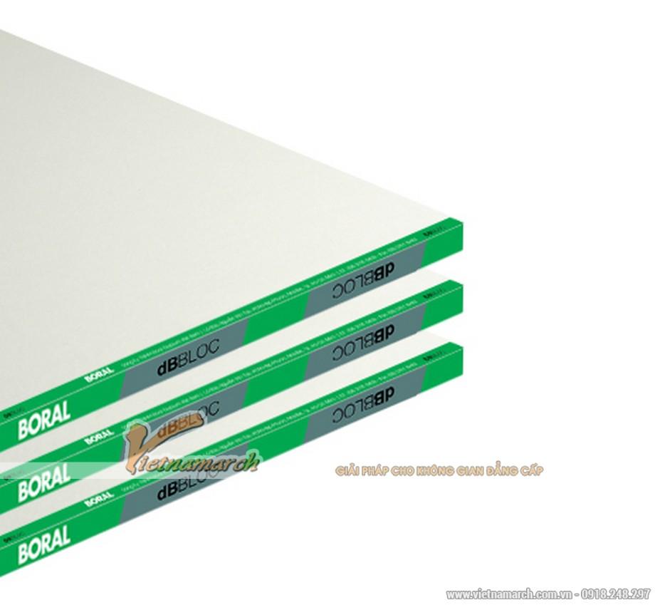 Tấm thạch cao cách âm USG Boral dBBloc - 01