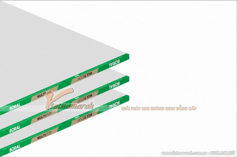 Tấm thạch cao chống va đập USG Boral Multistop - 01