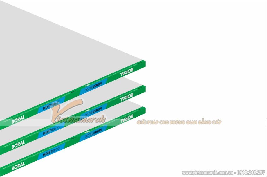 Tấm thạch cao chống ẩm USG Boral Moistbloc - 01