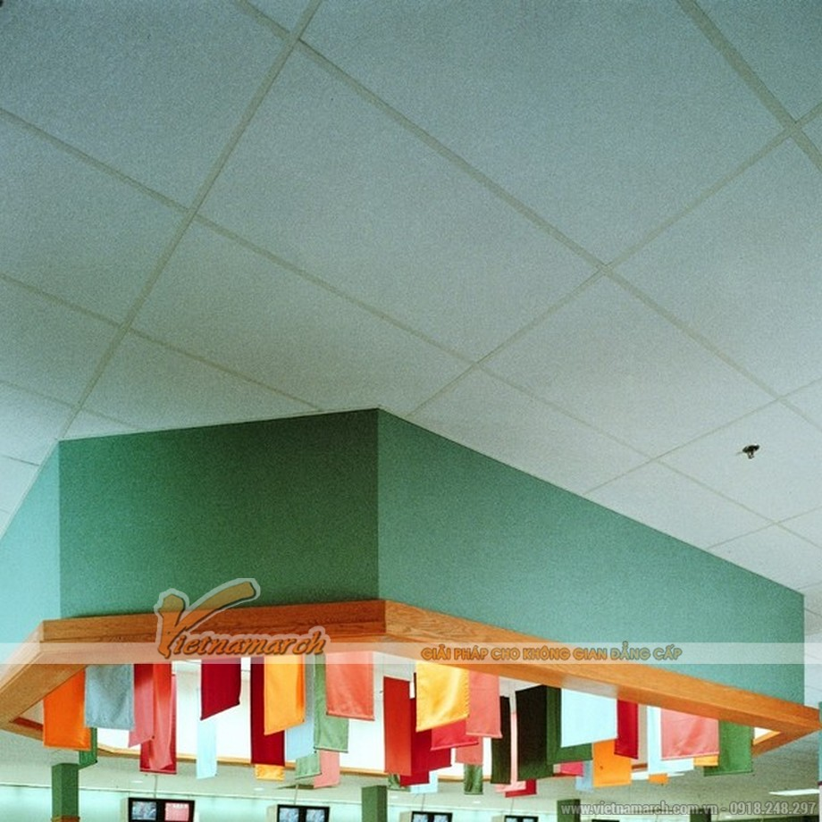 Tấm trần sợi khoáng USG - Radar Ceramic ClimaPus - 02