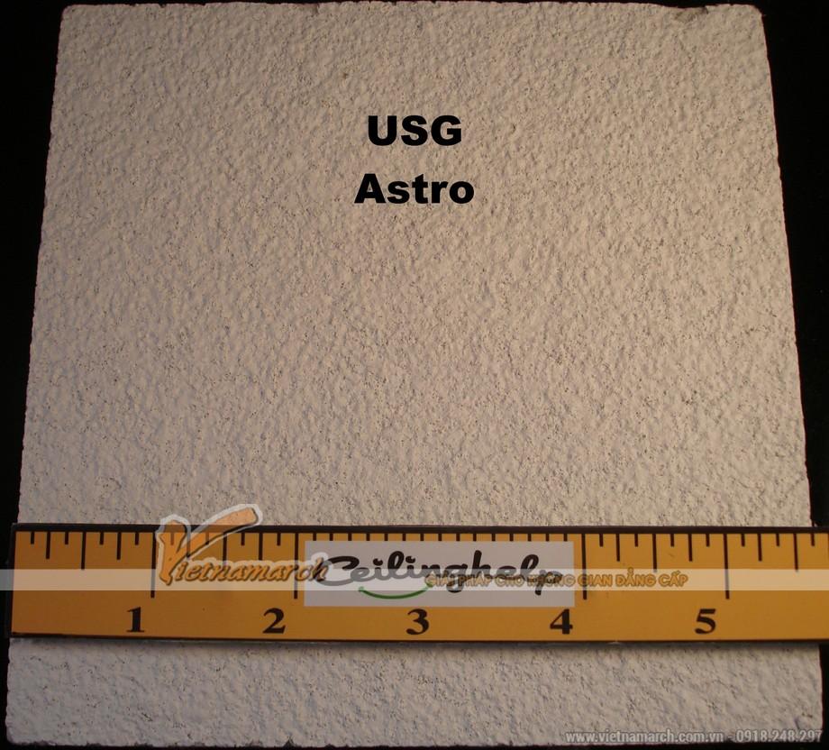 Tấm trần sợi khoáng USG - Astro ClimaPus - 02