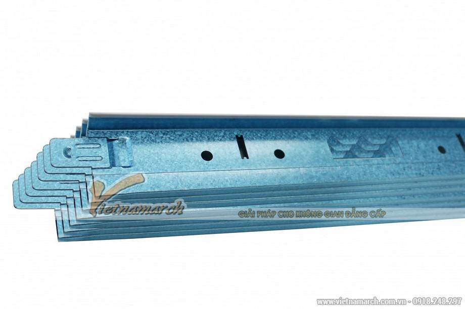 Khung xương trần nổi Zinca Blue - 02