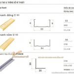 Khung xương vách ngăn thạch cao 63-64 TBC