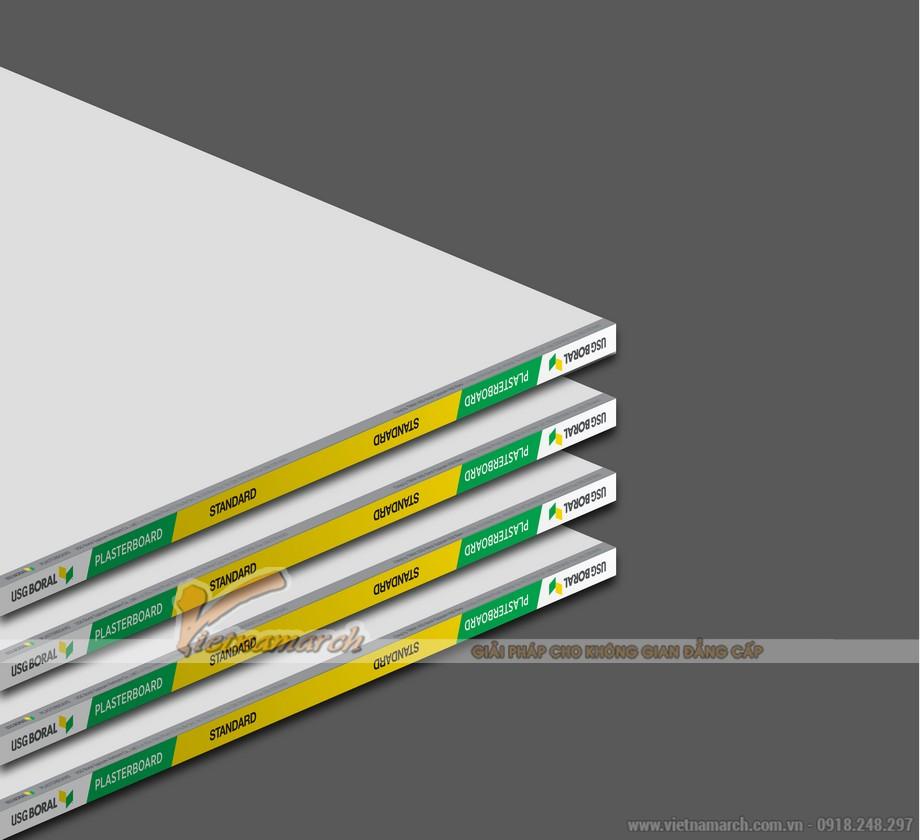 Tấm thạch cao tiêu chuẩn USG Boral Standardcore - 01