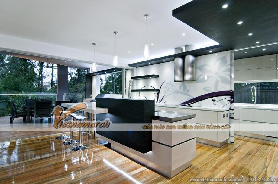 Chiêm ngưỡng mẫu trần thạch cao căn hộ chung cư D'. Le Roi Soleil Quảng An nhà anh Tú - 03
