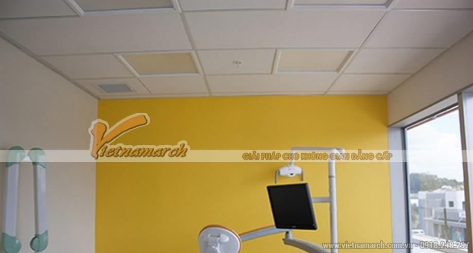 Tấm trần sợi khoáng USG - Clean Room ClimaPus - 02