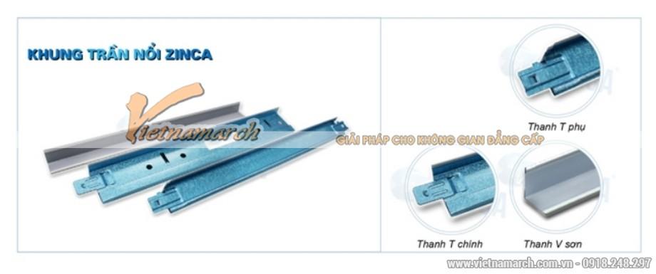 Khung xương trần nổi Zinca Pro - 03