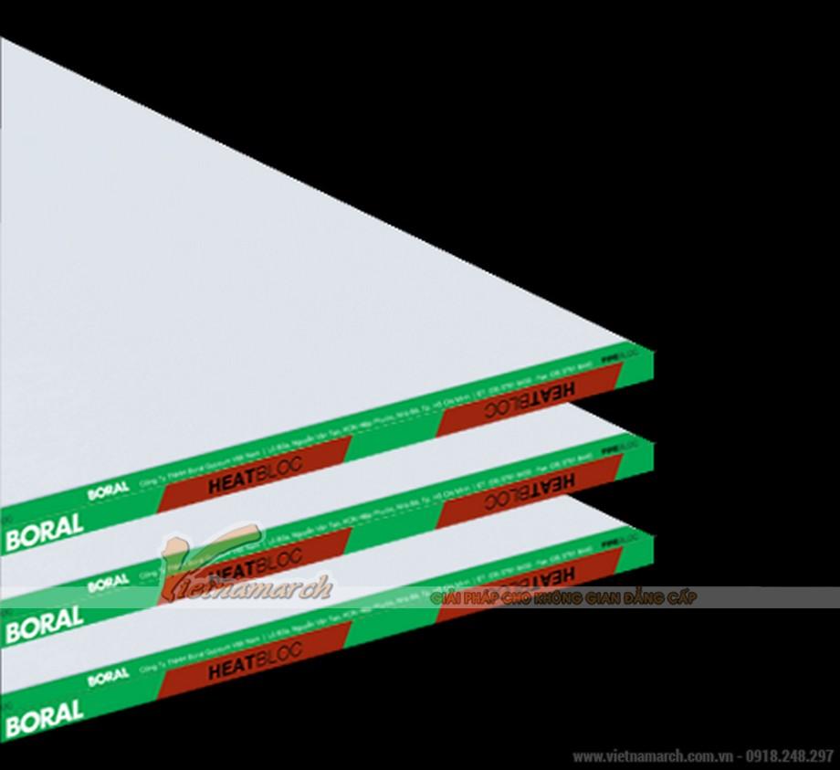 Tấm thạch cao cách nhiệt USG Boral HeatBloc - 01