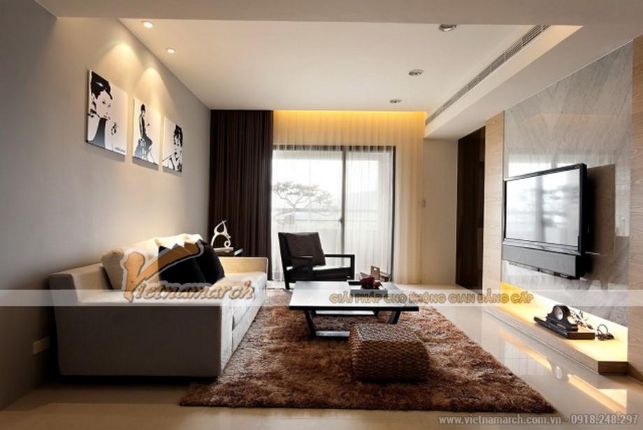 Ý tưởng thiết kế trần thạch cao cho căn hộ chung cư cao cấp - 06