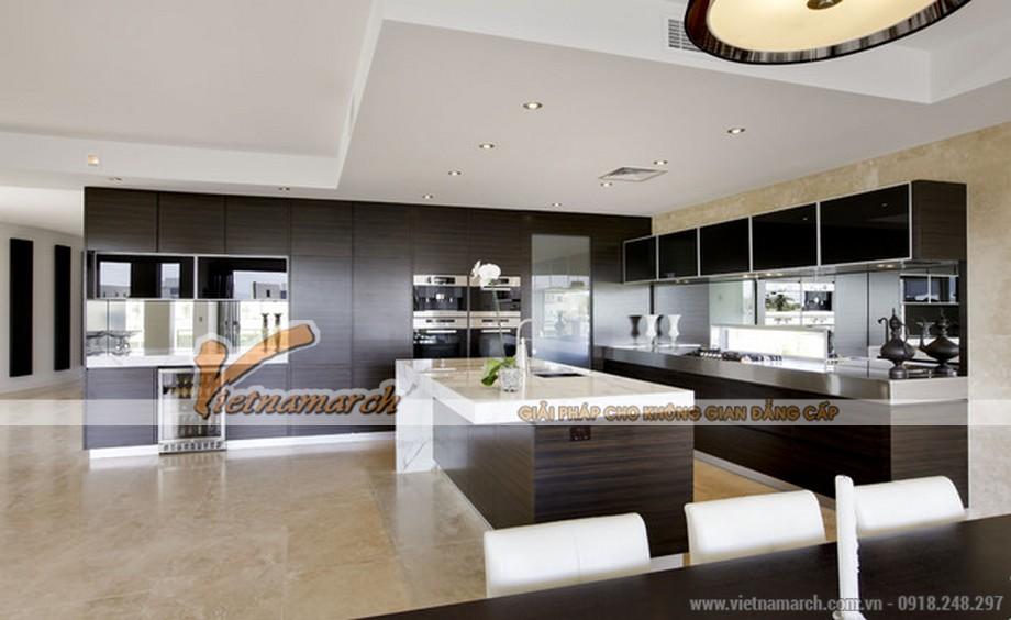 Mẫu trần thạch cao hiện đại cho căn hộ chung cư D'. Le Roi Soleil Quảng An - 05