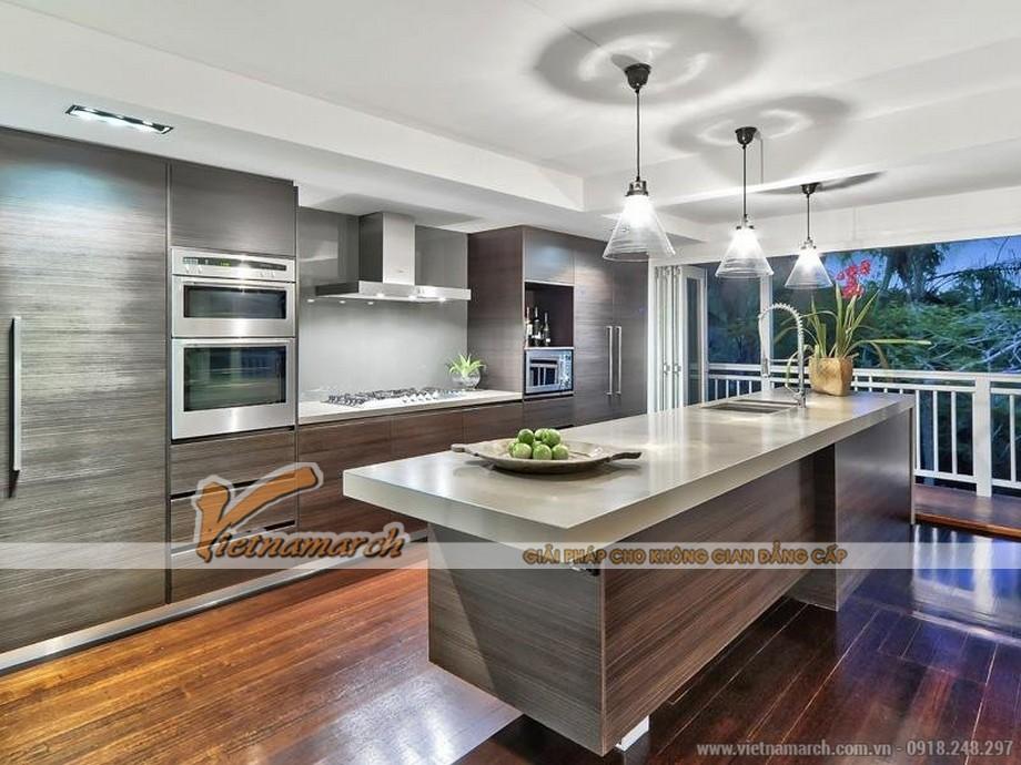 Mẫu trần thạch cao hiện đại cho căn hộ chung cư D'. Le Roi Soleil Quảng An - 06