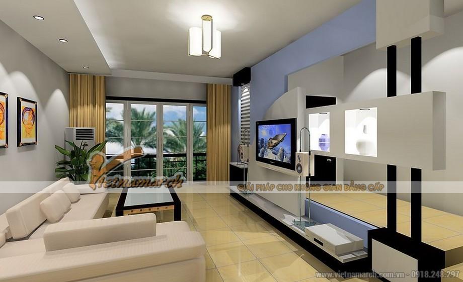 Lựa chọn mẫu trần thạch cao cho phòng khách diện tích nhỏ - 04
