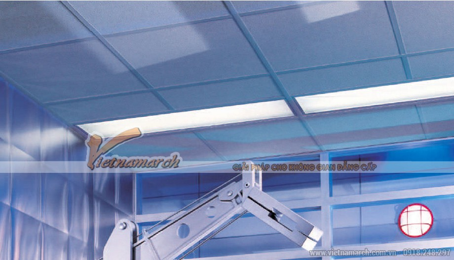 Tấm trần sợi khoáng USG - Clean Room ClimaPus - 07