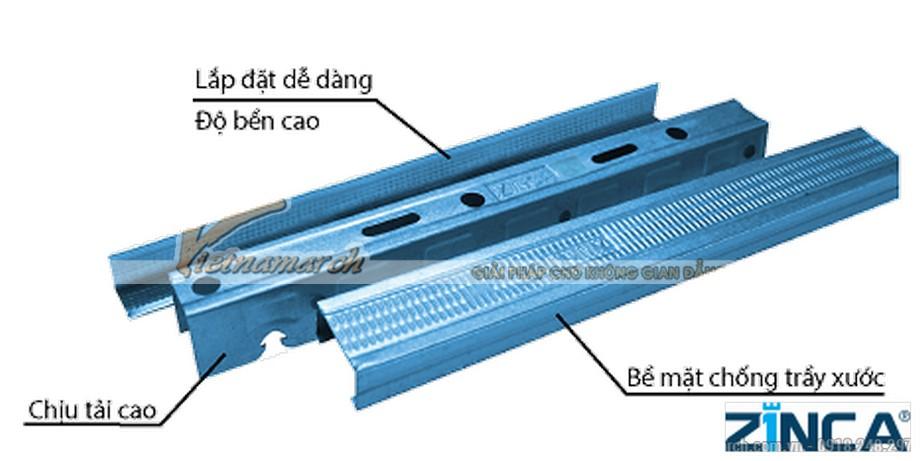 Khung trần chìm Zinca - TBC (Tiết kiệm) - 03