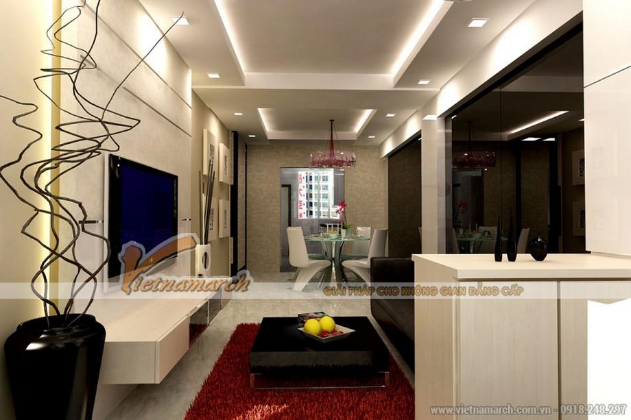 Tổng hợp các mẫu trần thạch cao hiện đại cho phòng khách hot nhất 2016-05