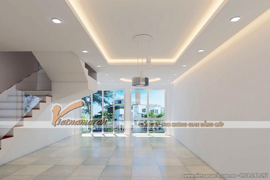 Mẫu trần thạch cao tươi trẻ cho căn biệt thự nhà anh Hoàng - Quảng Ninh - 01