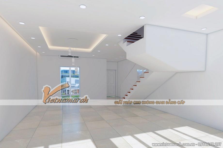Mẫu trần thạch cao tươi trẻ cho căn biệt thự nhà anh Hoàng - Quảng Ninh - 02