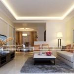Chiêm ngưỡng mẫu trần thạch cao phòng khách phong cách hiện đại