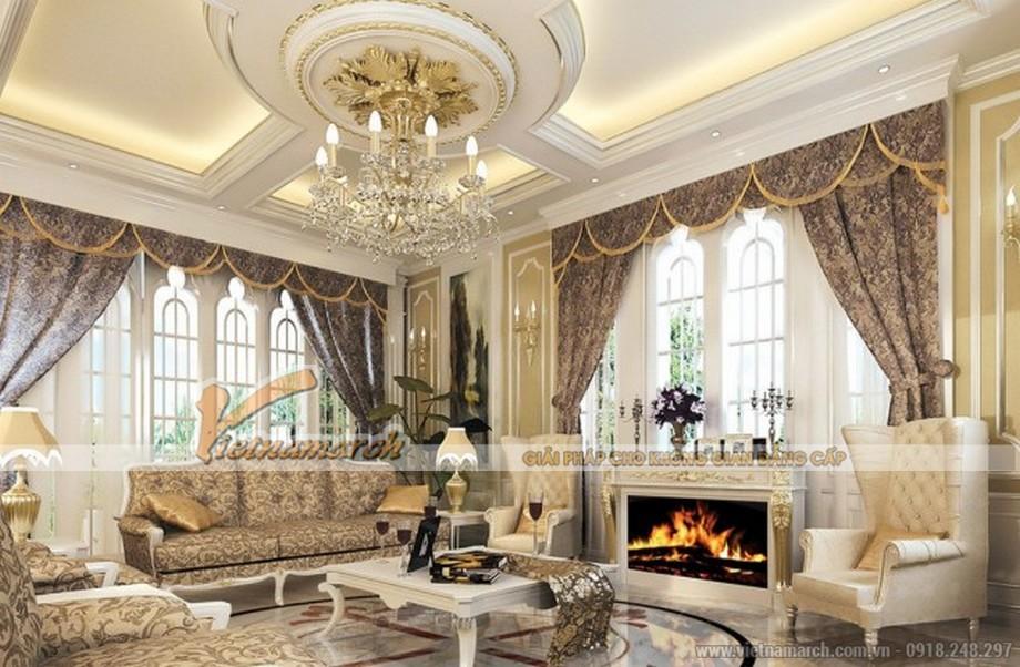 Thay đổi diện mạo ngôi nhà của bạn với trần thạch cao phòng khách - 02