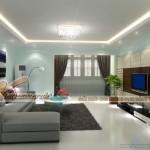 Lựa chọn mẫu trần thạch cao cho phòng khách diện tích nhỏ