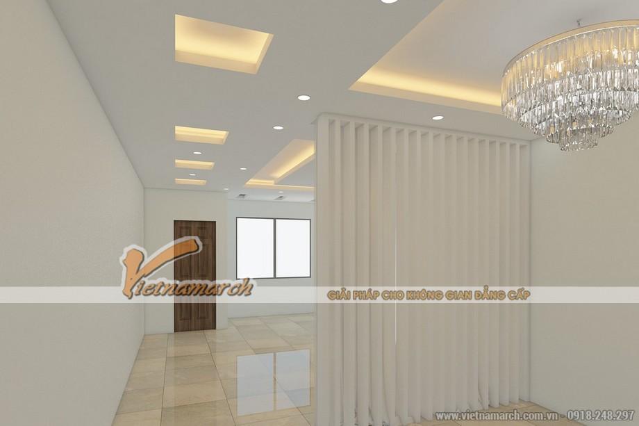 Thiết kế trần thạch cao nhà phố cho gia đình chị Hạnh - Hải Dương - 04