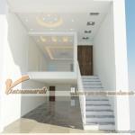 Thiết kế trần thạch cao nhà phố cho gia đình chị Hạnh – Hải Dương