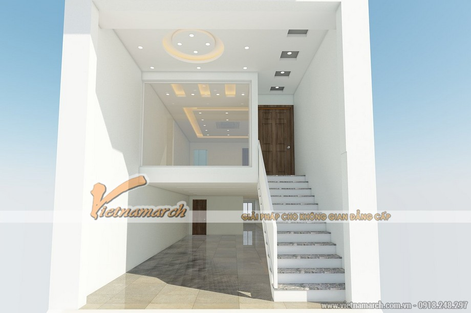 Thiết kế trần thạch cao nhà phố cho gia đình chị Hạnh - Hải Dương - 01